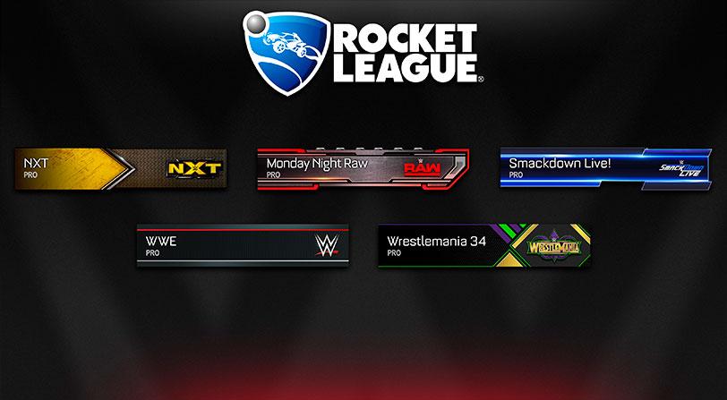 Contenido WWE Rocket League