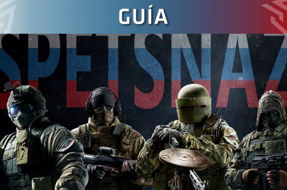 Guía de Rainbow Six Siege: Operadores Spetsnaz