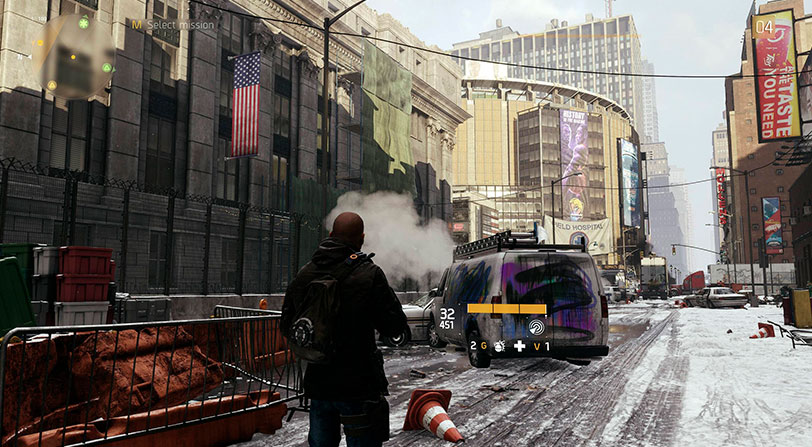 The Division Actualizacion 4K Xbox One X