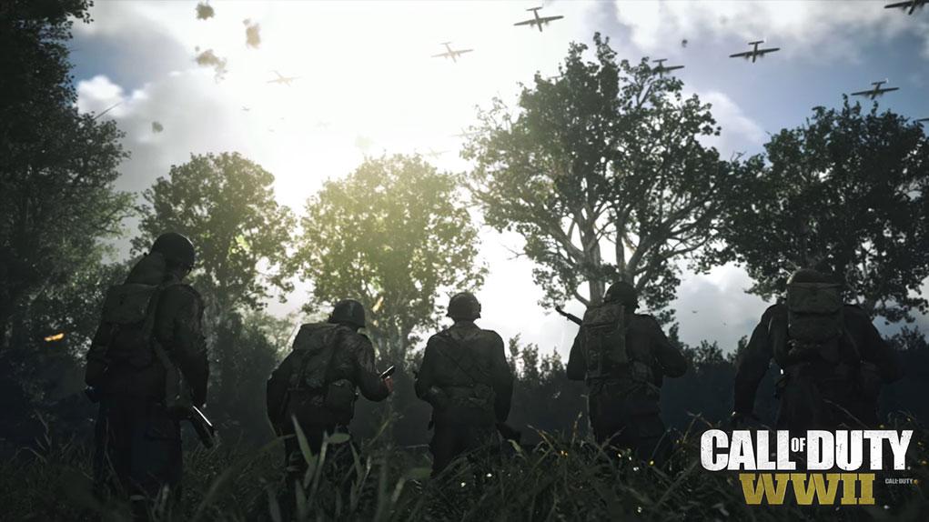 cambios divisiones cod ww2