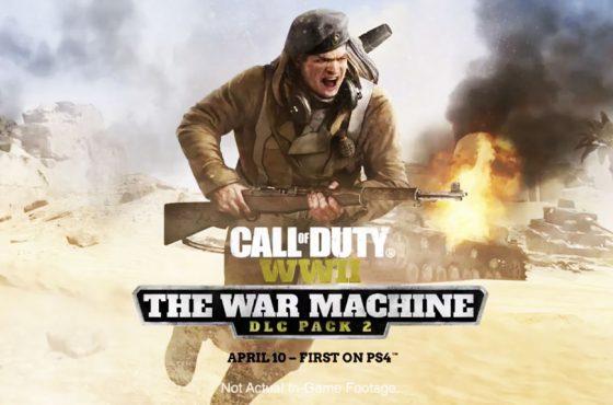 Nuevo tráiler del DLC de Call of Duty: WWII 'La Máquina de Guerra'