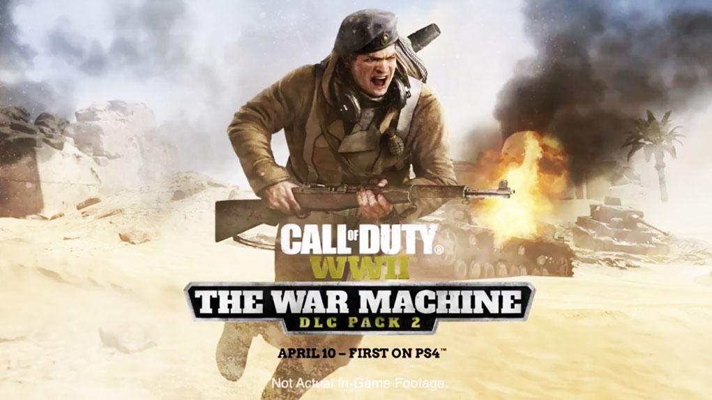 trailer segundo dlc call of duty ww2