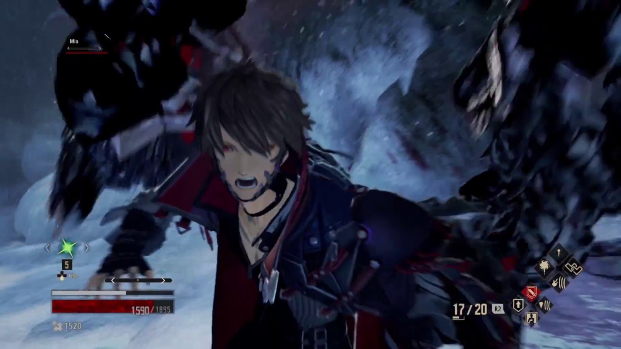 gameplay sistema combate code vein