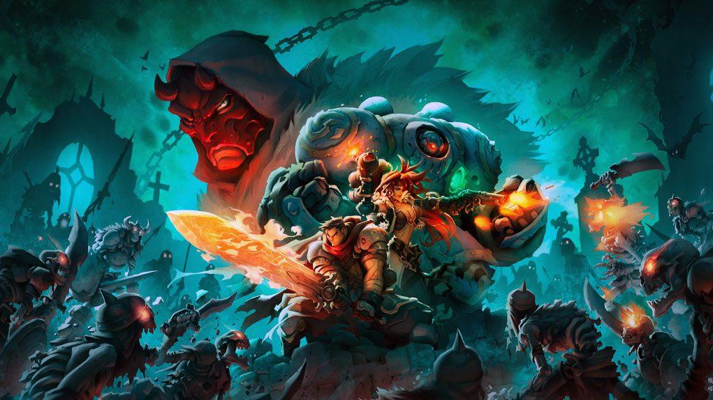 Battle Chasers Nightwar switch