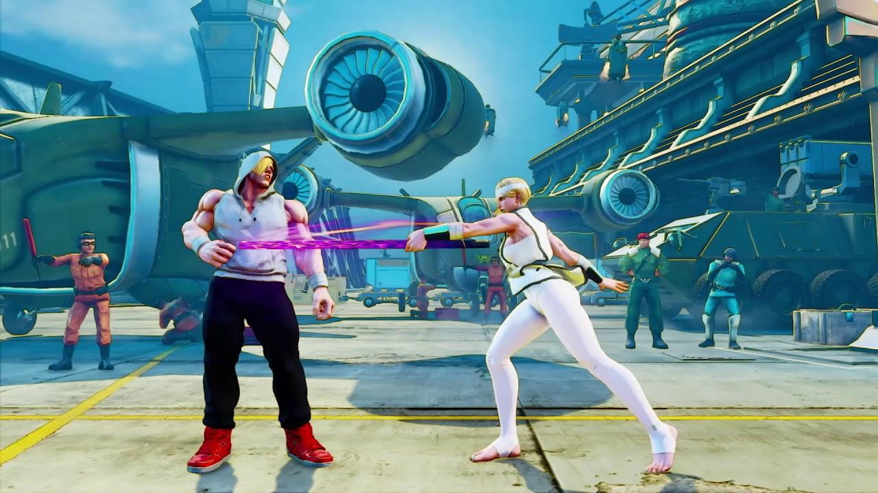 Falke Street Fighter V