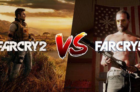 Far Cry 2 presenta algunas características físicas más avanzadas que Far Cry 5