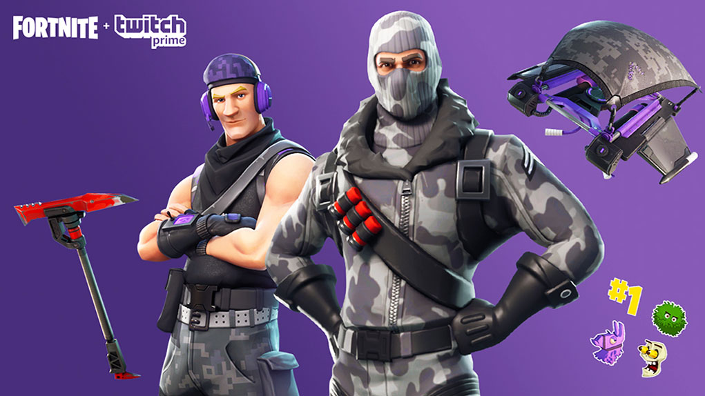 pack twitch prime fortnite