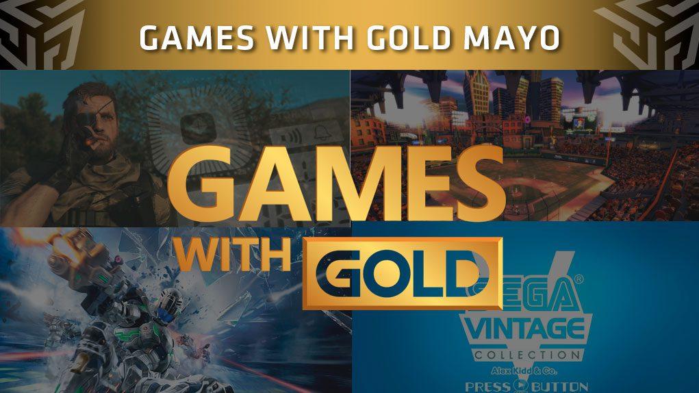 Juegos Xbox Live Gold Mayo 2018