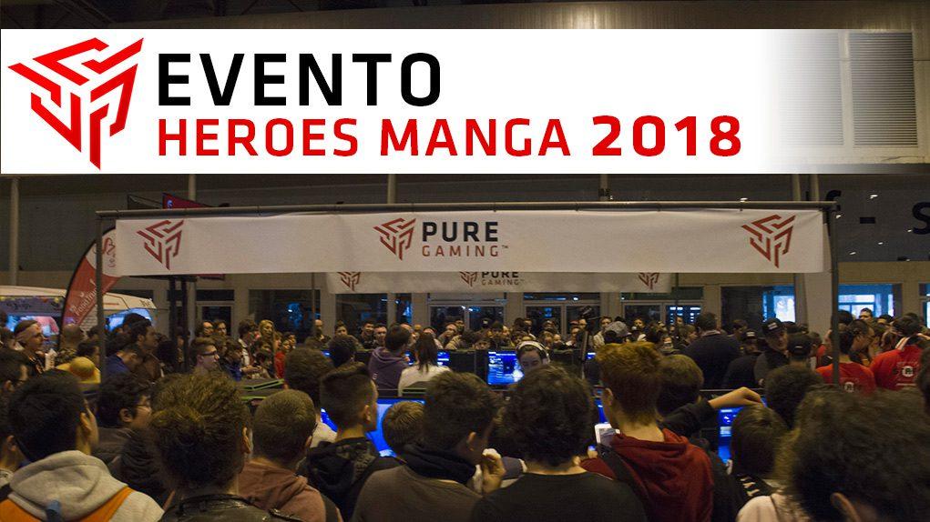 puregaming heroes manga 2018