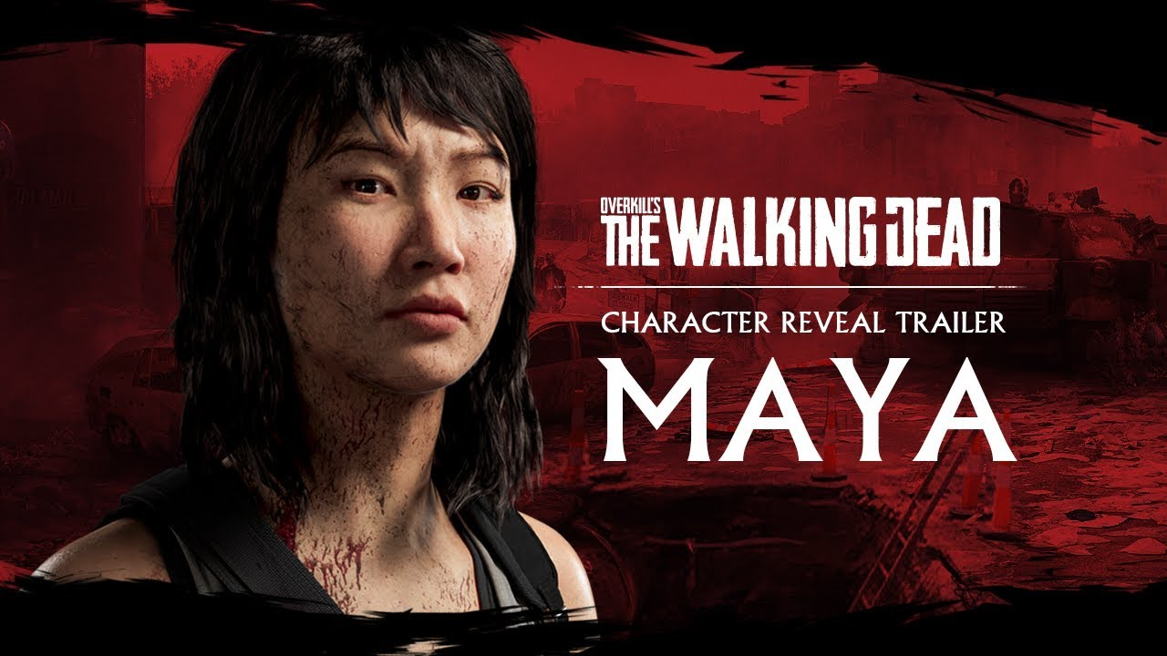 trailer cinematico walking dead maya