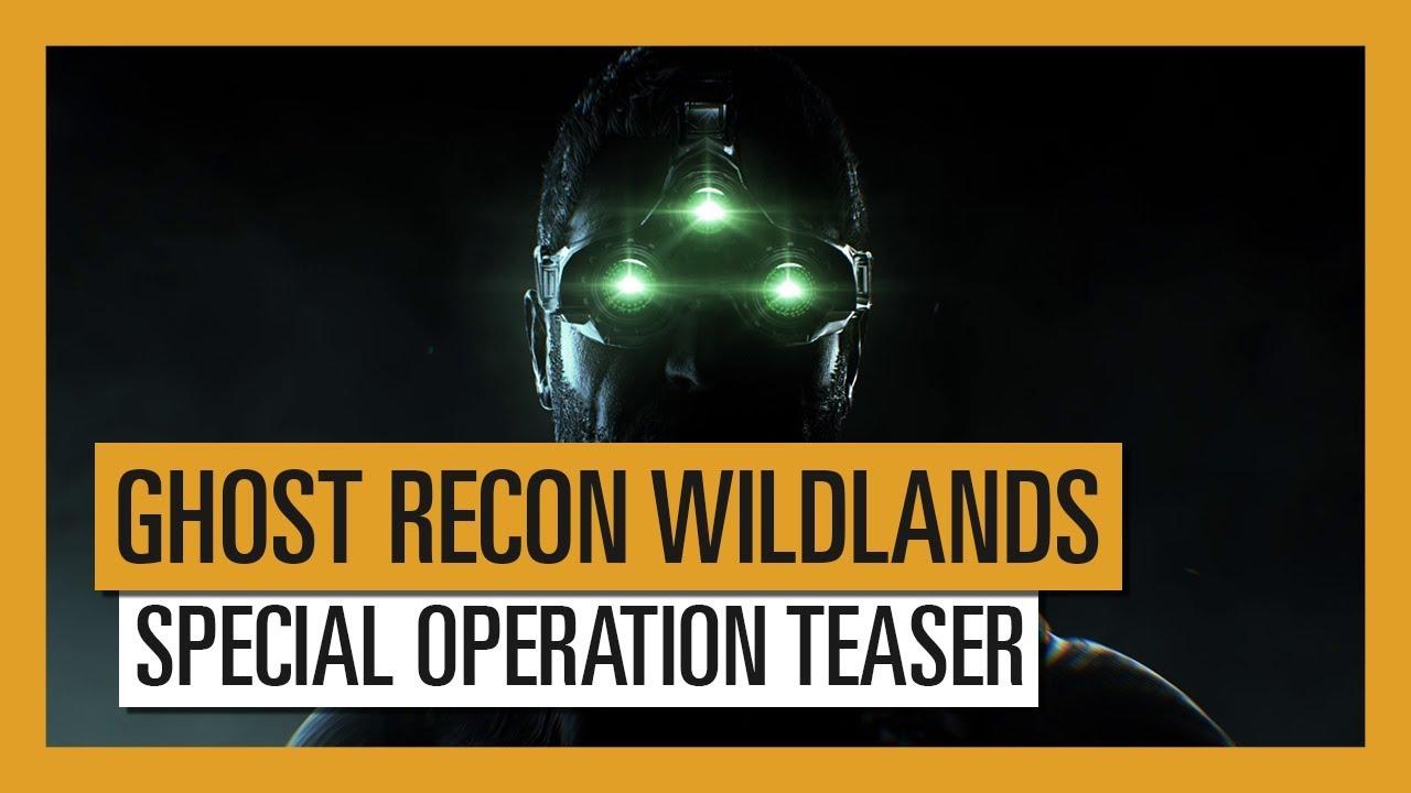 operacion splinter cell ghost recon wildlands