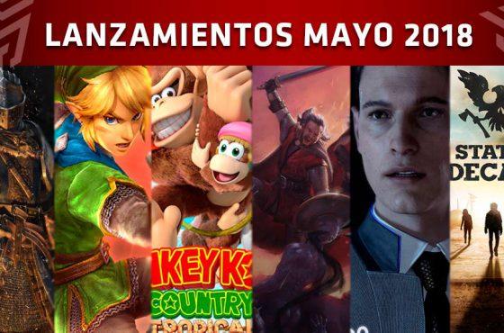 Próximos lanzamientos de mayo 2018
