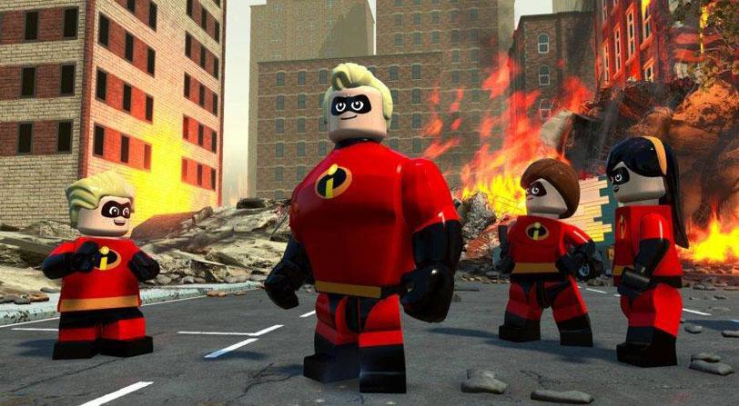 Gameplay Lego Los Increíbles