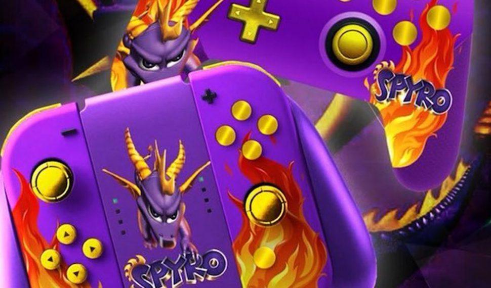 Así son los mandos inspirados en el nuevo juego de Spyro
