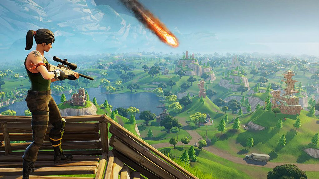 un meteorito destruir 39 pisos picados 39 en fortnite battle