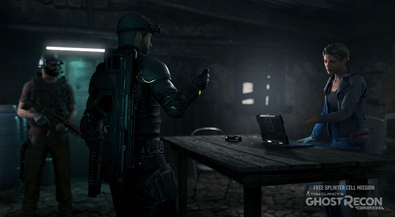 Splinter Cell Ghost Recon