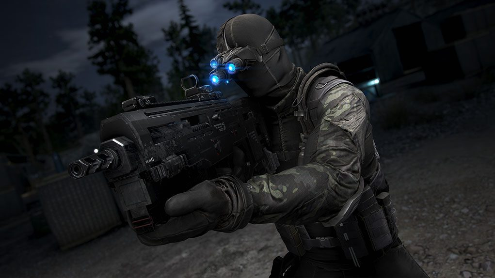 operacion splinter cell ghost recon wildlands