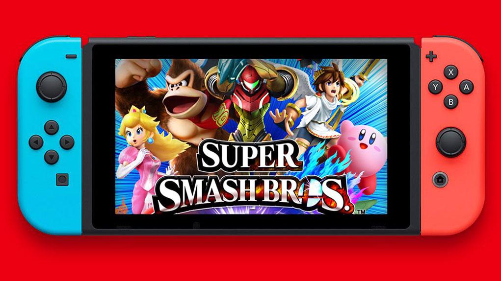 modo cooperativo super smash bros switch