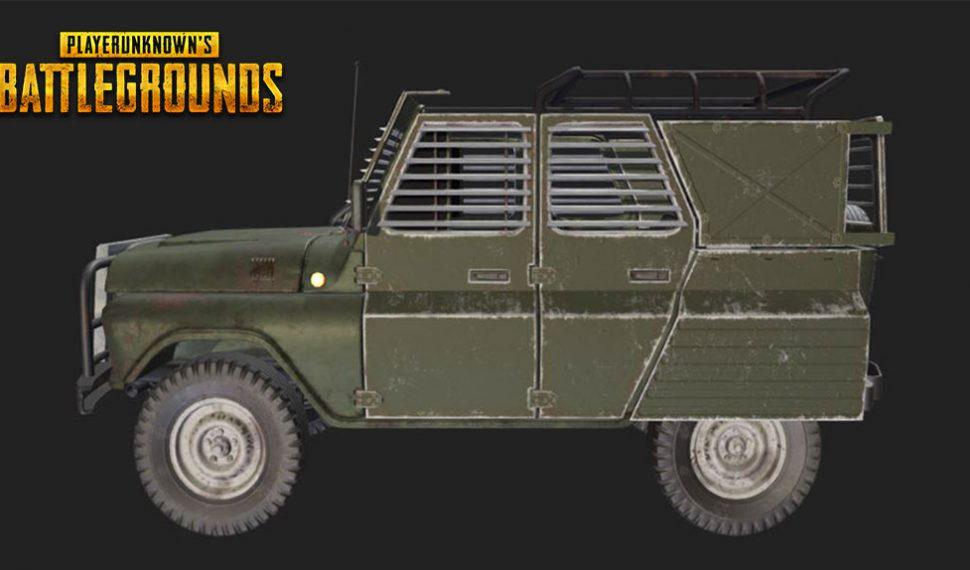 Encuentran vehículos blindados en los archivos de juego de PUBG
