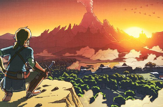Así es el libro de arte de Zelda: Breath of the Wild