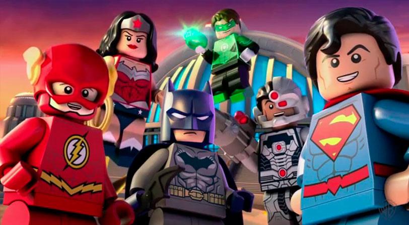 trailer lego DC Super Villanos