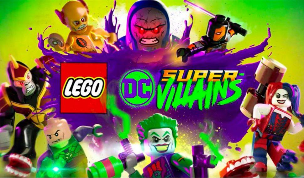 Ya tenemos el primer tráiler de LEGO DC Super Villanos
