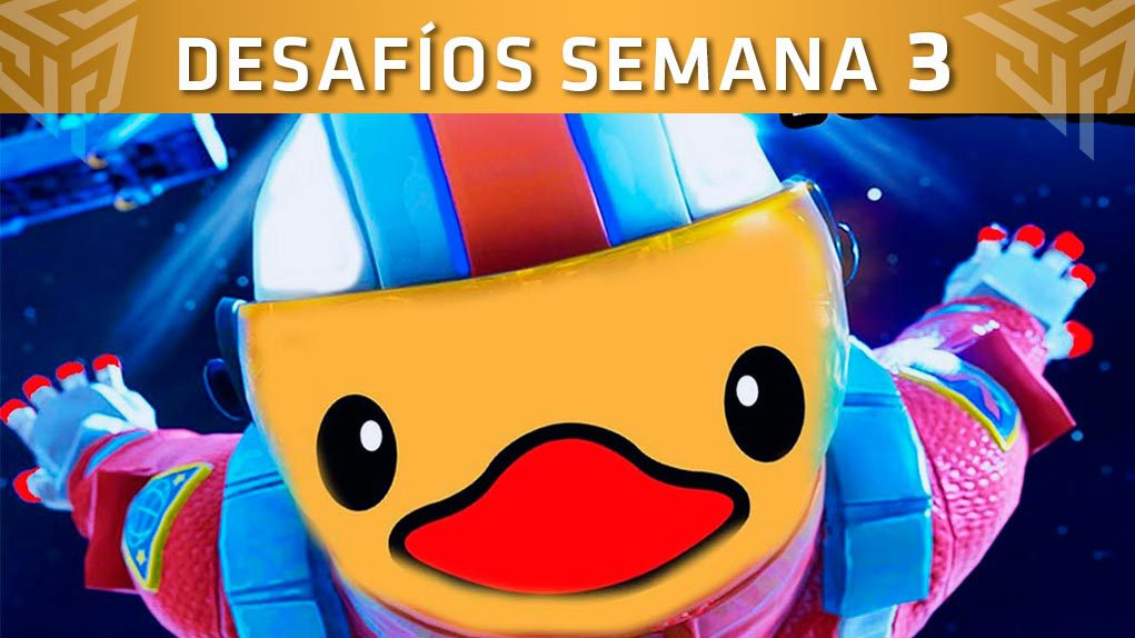 desafios semana 3 temporada 4 fortnite