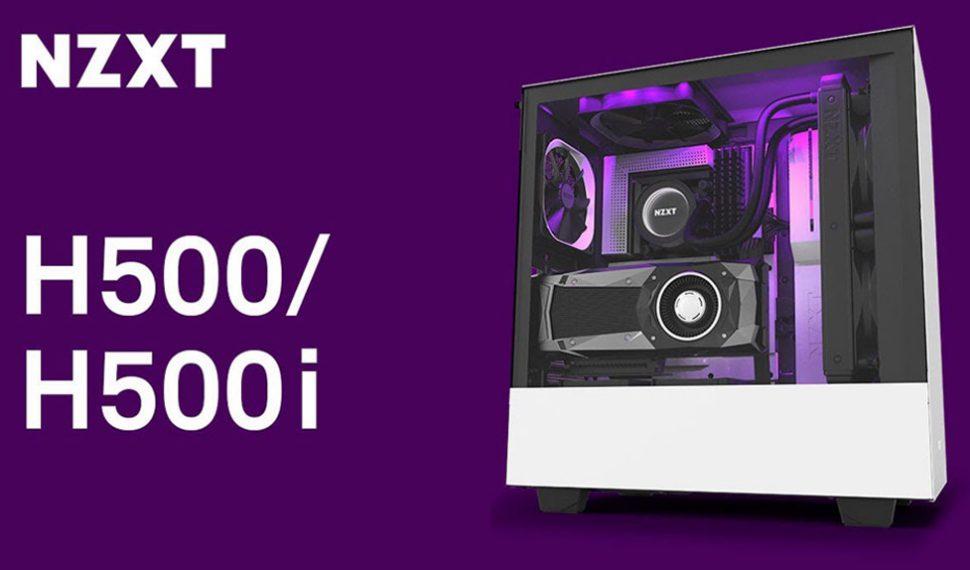 NZXT sigue redefiniendo el concepto de chasis para PC con los modelos H500 y H500i