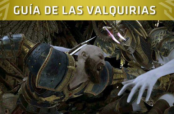 God of War: Guía para derrotar a todas las Valquirias
