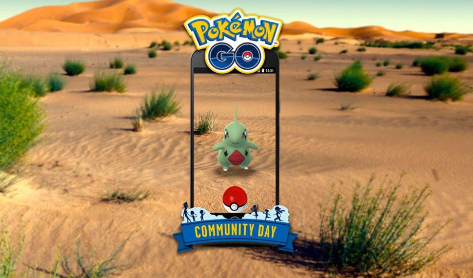Larvitar protagoniza el dia de la Comunidad de junio de Pokémon GO
