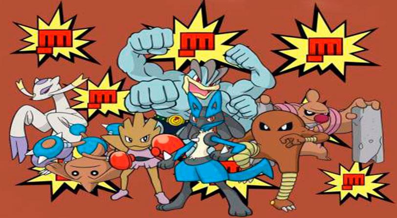 Pokemon Go Desafio de Lucha