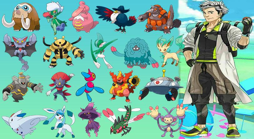 Pokemon Go Generacion 4