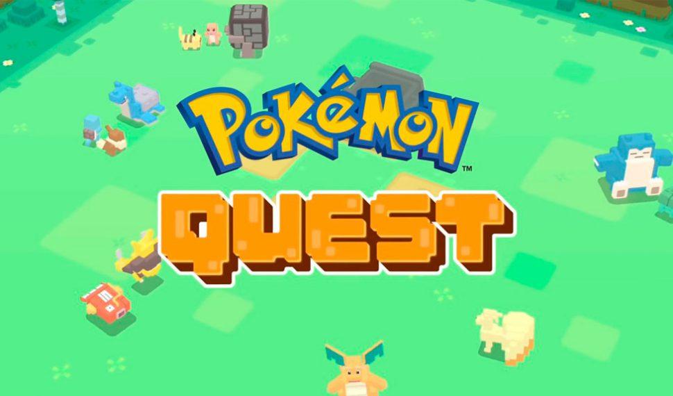 Así es Pokémon Quest el nuevo juego de Pokémon
