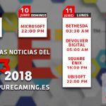 horarios e3 2018
