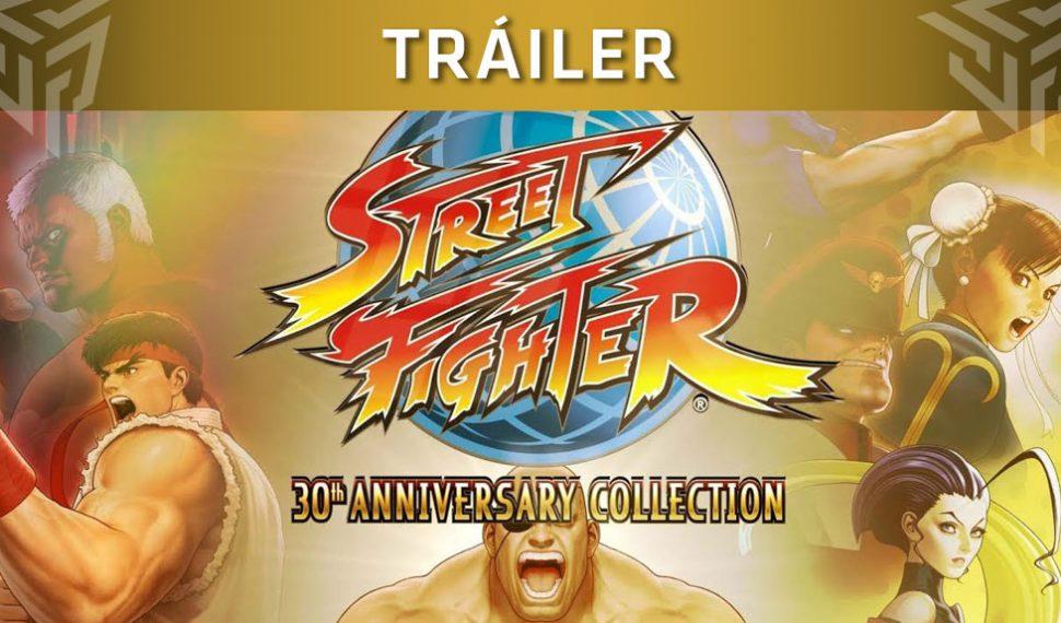Tráiler de lanzamiento de Street Fighter 30th Anniversary Collection