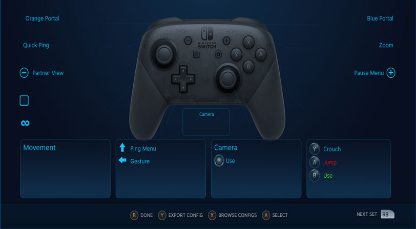 Mando Pro Nintendo Switch Steam