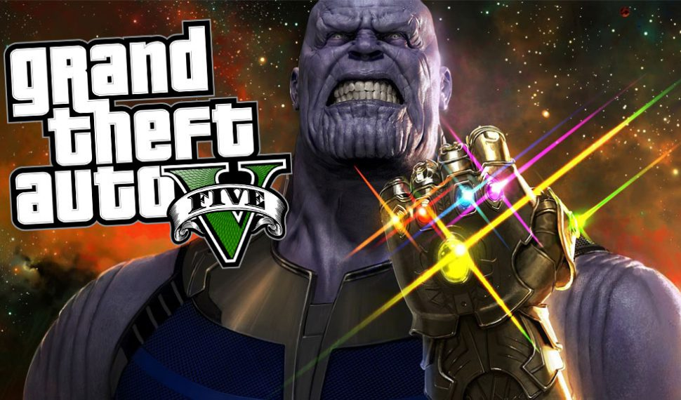 Un mod de GTA V introducirá a Thanos de Infinity War