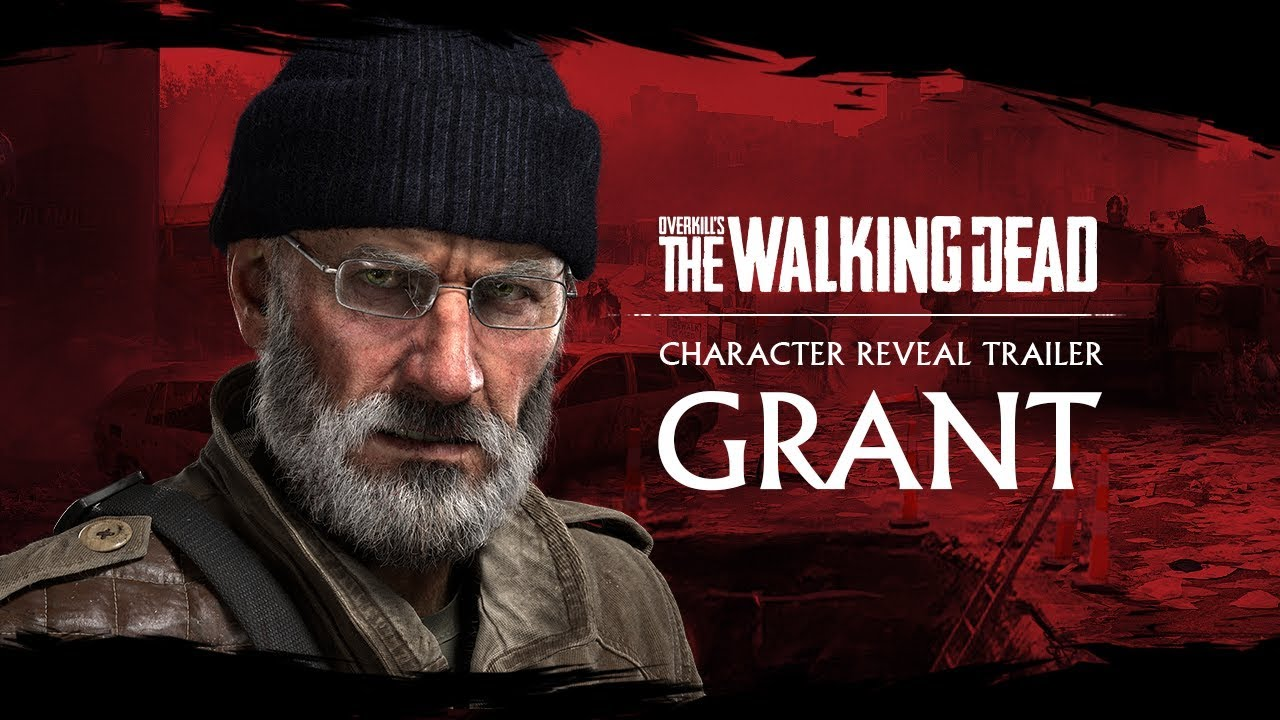 nuevo trailer overkill´s the walking dead grant