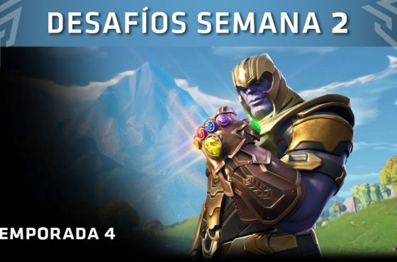 Estos son los desafíos de la Semana 2 de Fortnite: Battle Royale, Temporada 4