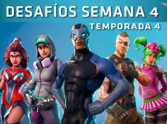 desafios semana 4 fortnite