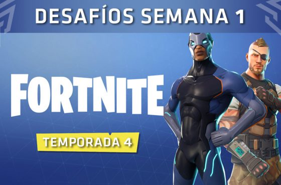 Estos son los desafíos de la Semana 1 de Fortnite: Battle Royale, Temporada 4