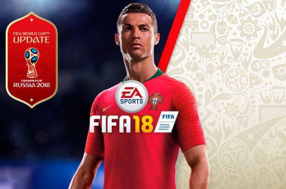 El Mundial de Rusia ya ha llegado a FIFA 18