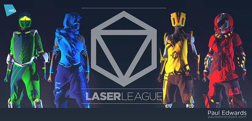 laser league impresiones