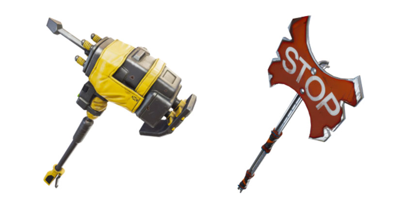 objetos skins temporada 4 fortnite