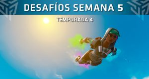 desafios semana 5 fortnite temporada 4