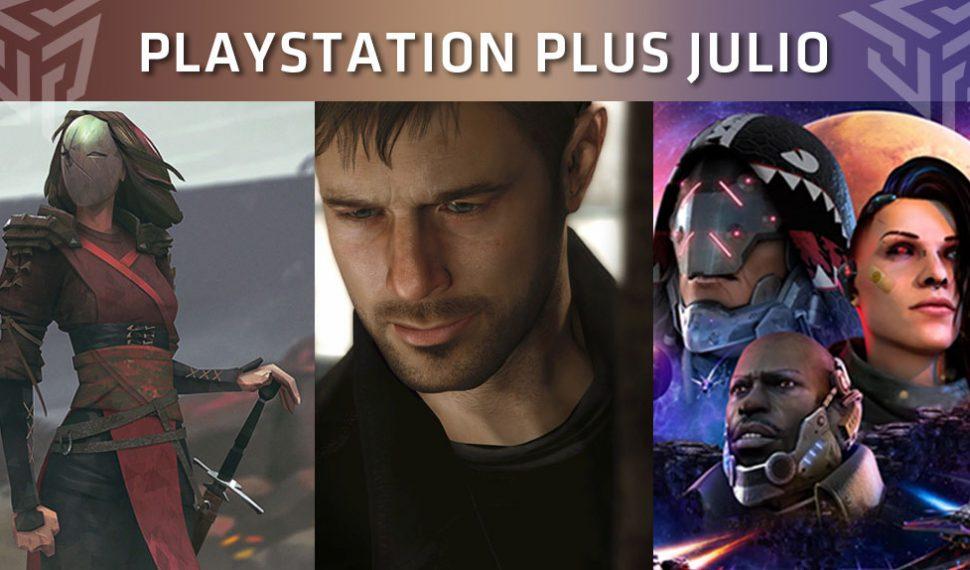 Estos son los juegos de PlayStation Plus del mes de julio