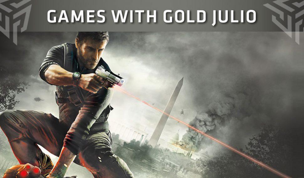 Ya conocemos los juegos de Xbox Live Gold para julio 2018