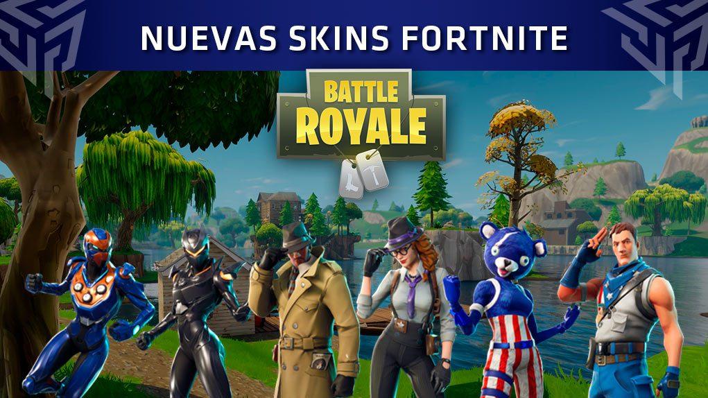 Actualizaci n 4 5 de fortnite nuevas skins picos ala for Fortnite temporada 5 sala