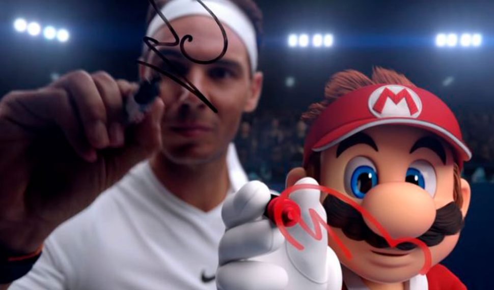 Así es el nuevo anuncio de Mario Tennis Aces junto a Rafa Nadal