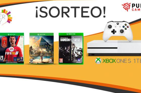 MEGA SORTEO: Gana una Xbox One S de 1TB + 3 juegos con PureGaming y Diverzity